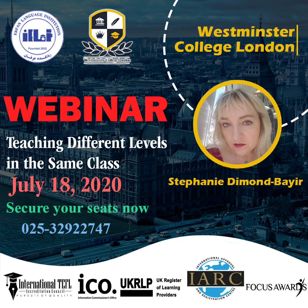 Westminster College London Webinar